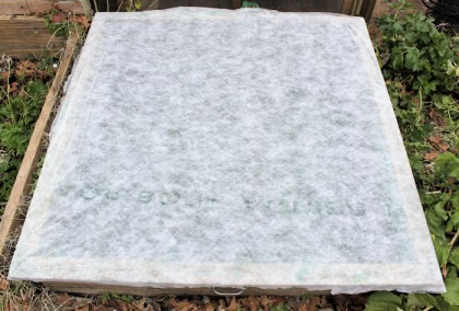 cold frame covers with new material