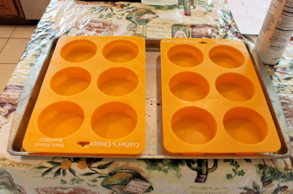 silicone soap molds (click on any photo to enlarge)