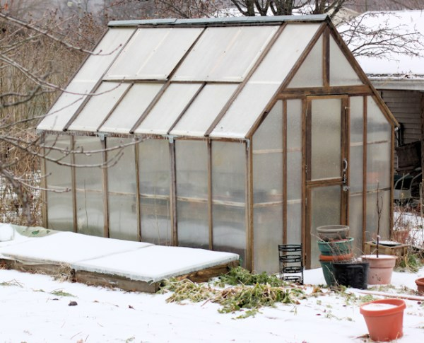 greenhouse in December