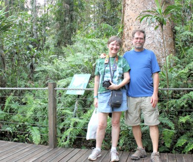 Lynda and I at Daintree