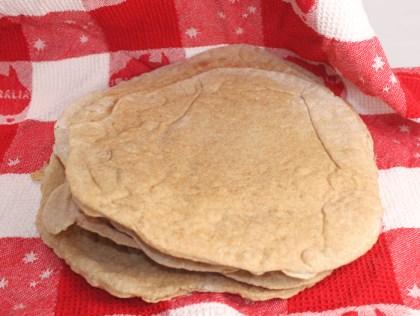 Whole Grain Spelt Pita Bread