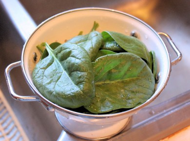 spinach for salad
