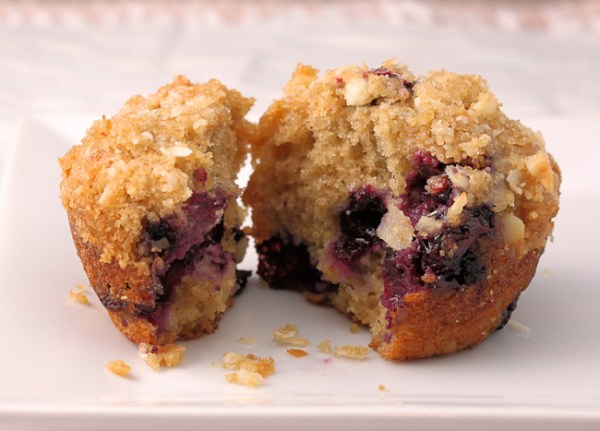 Blueberry-Coconut_Macadamia Muffin