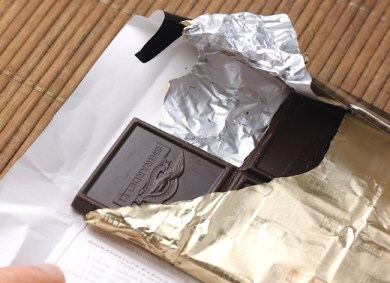 bittersweet chocolate after testing