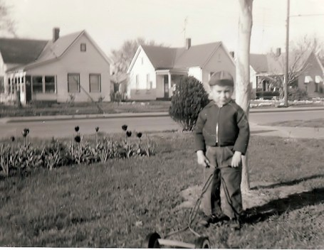 me and my first mower