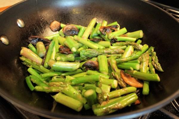 asparagus stir-fried