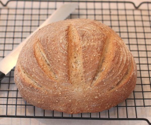 Cracked Wheat Bread