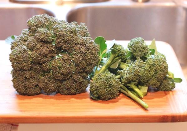 Arcadia broccoli plus some side shoots