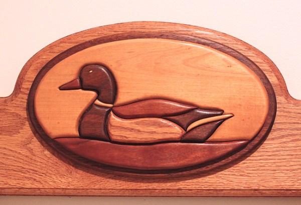 duck intarsia