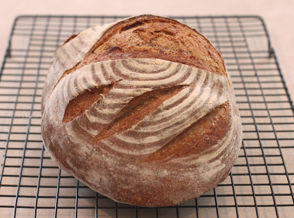 loaf of 40 Percent Caraway Rye bread