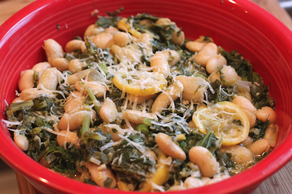 Cima di Rapa with Beans