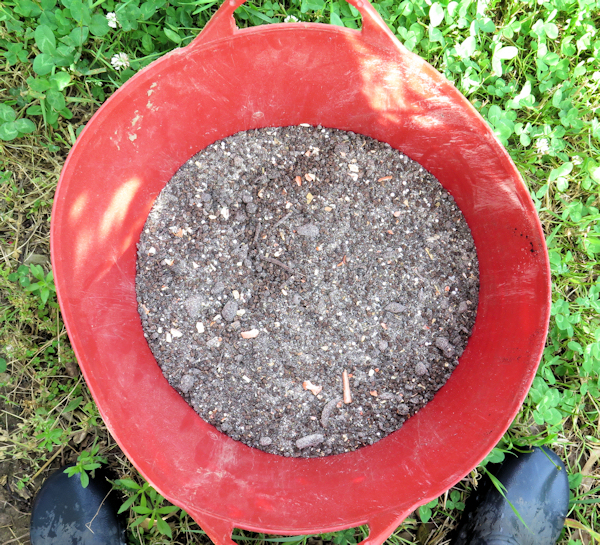 fertilizer mix in Tubtrug
