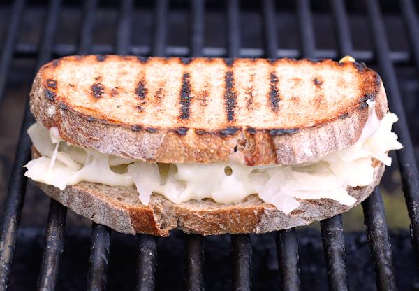 grilled meatless reuben sandwich