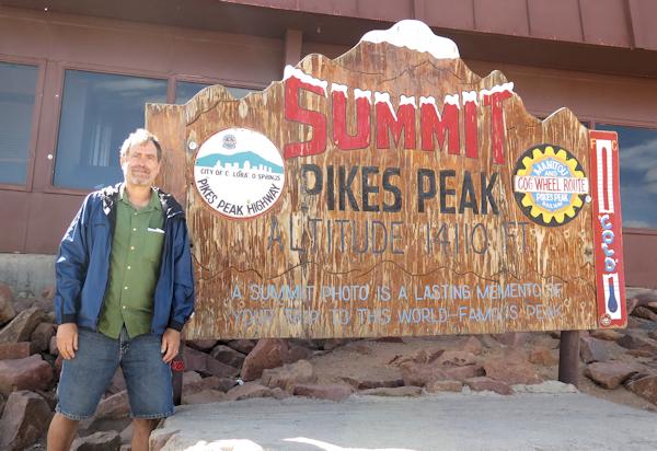 Me at Pikes Peak
