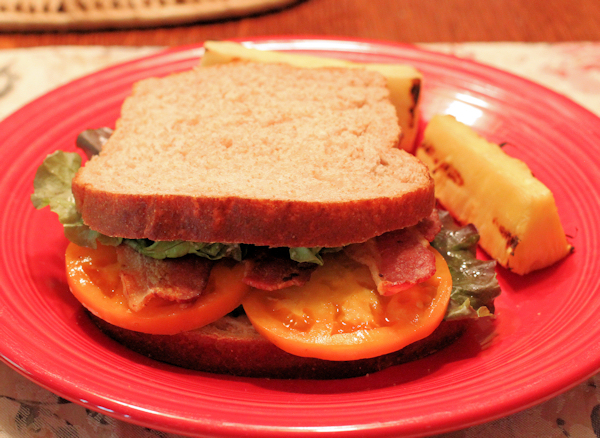 BLT with Chef's Choice Orange tomatoes