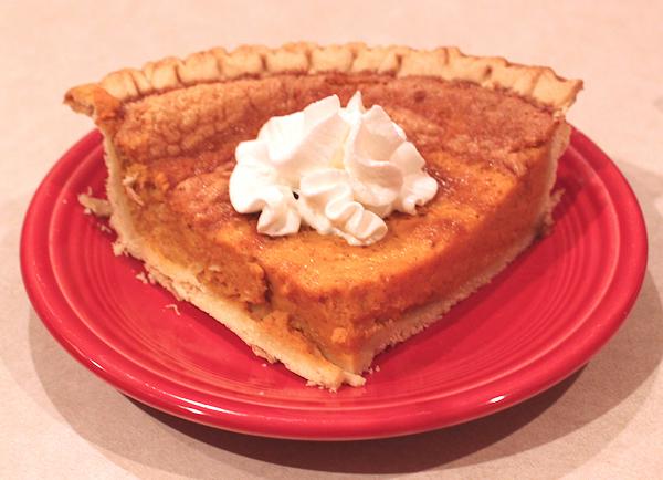 Whiskey Pumpkin Pie