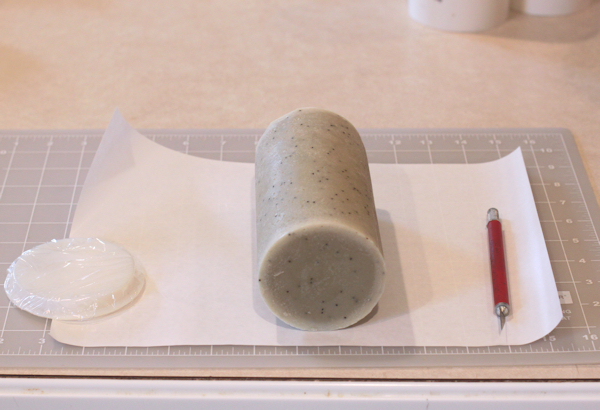 making soap liner from freezer paper