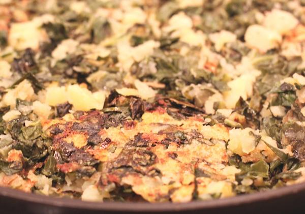 Kale and Potato Hash