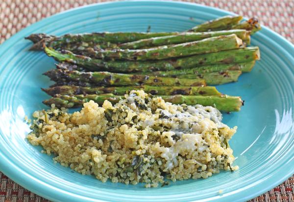 Green Quinoa Pilaf
