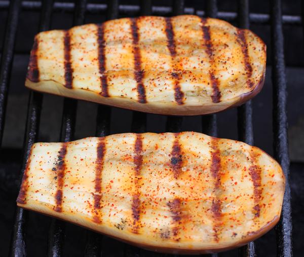 grilled Dancer eggplant
