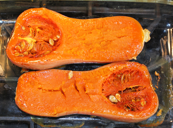 baked Early Butternut squash
