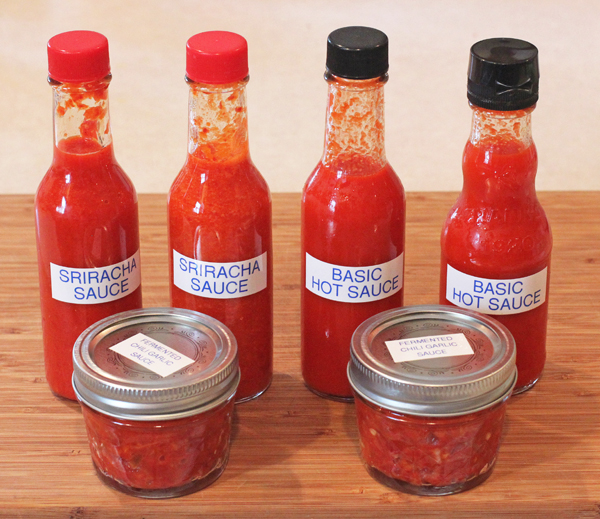 hot sauces made from fermented pepper mash