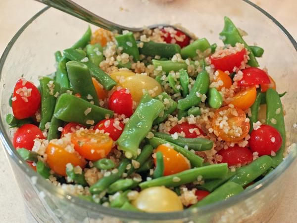 Green Bean and Bulgur Salad with Walnuts