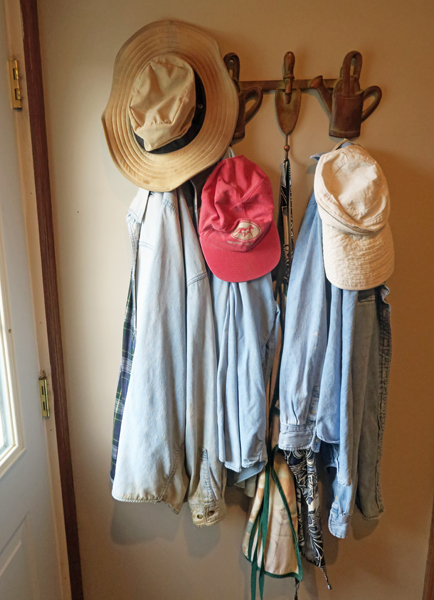 old gardening clothes