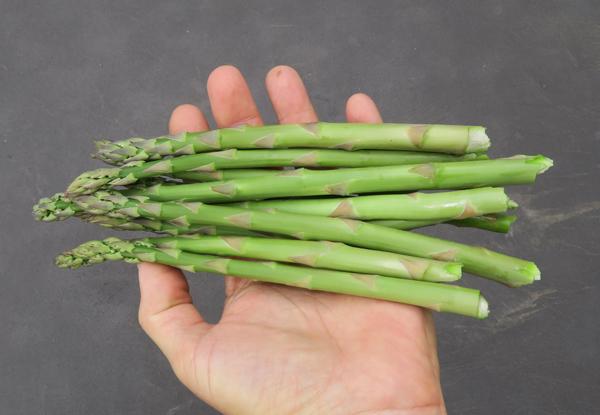 last asparagus of 2018