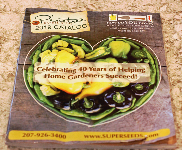 first 2019 seed catalog