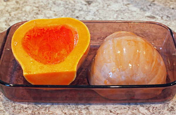 baked Turkeyneck squash