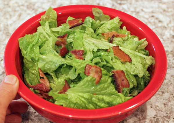 Classic Wilted Lettuce salad