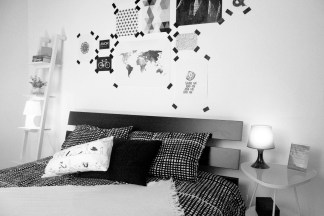 HOME STAGER: WALL ART CON WASHI TAPES