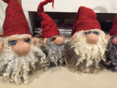 Christmas gnomes from Scandinavian Design By Trine and Angelica