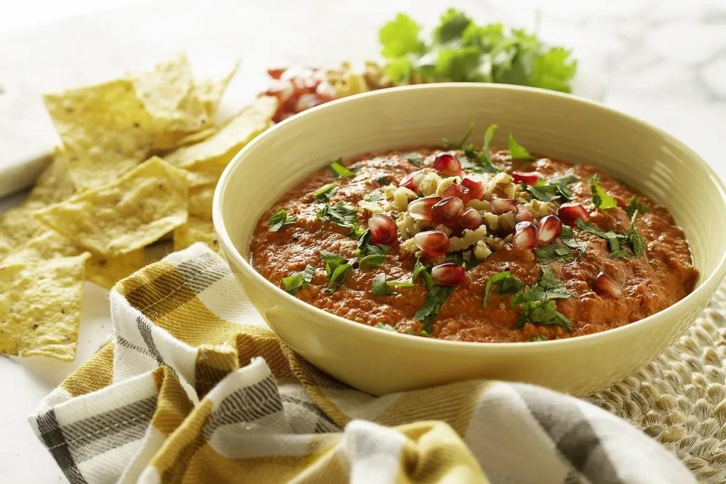 Muhammara Roasted Red Pepper & Walnut Dip