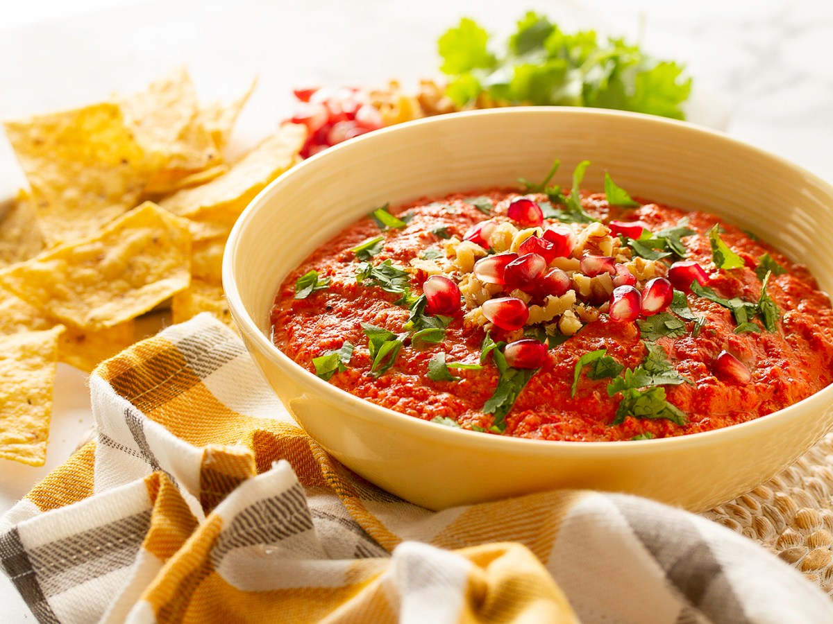 Muhammara Roasted Red Pepper & Walnut Dip