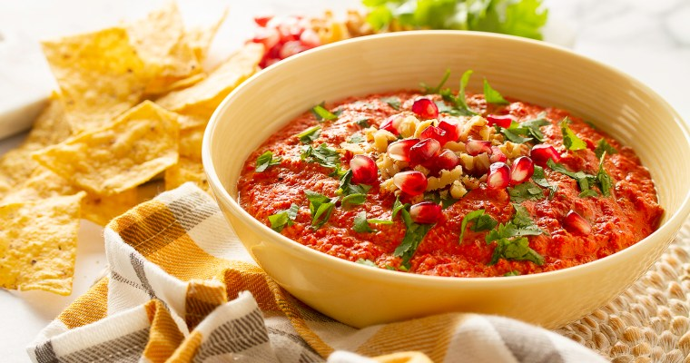 Muhammara Roasted Red Pepper Walnut Dip