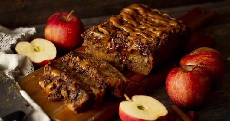 Vegan & Gluten-Free Apple Streusel Cake