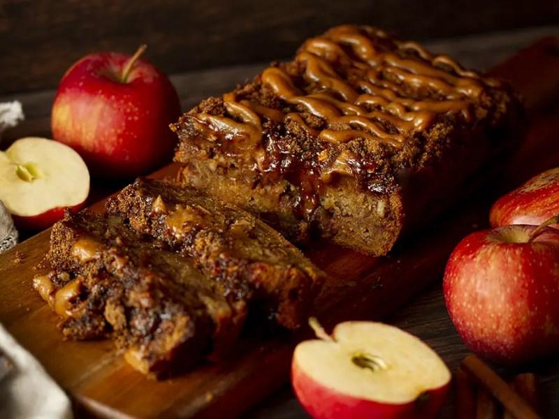 Gluten-Free Vegan Apple Streusel Cake