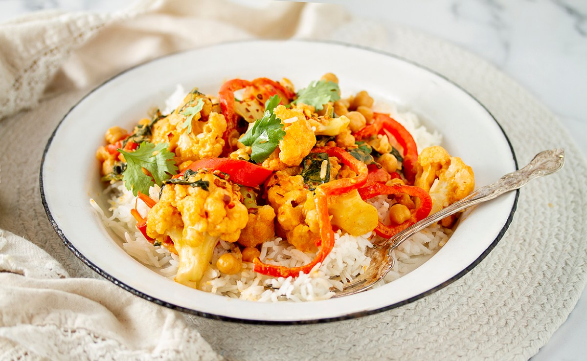 One-Pot Cauliflower Curry