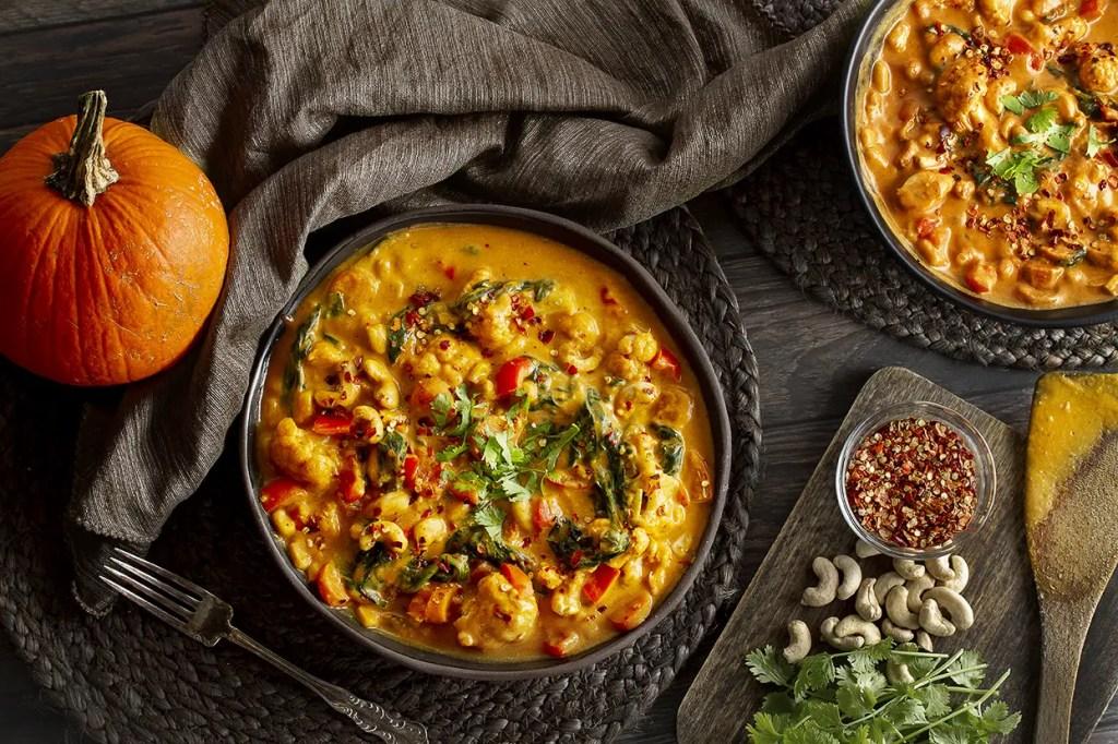 Creamy One-Pot Pumpkin Curry