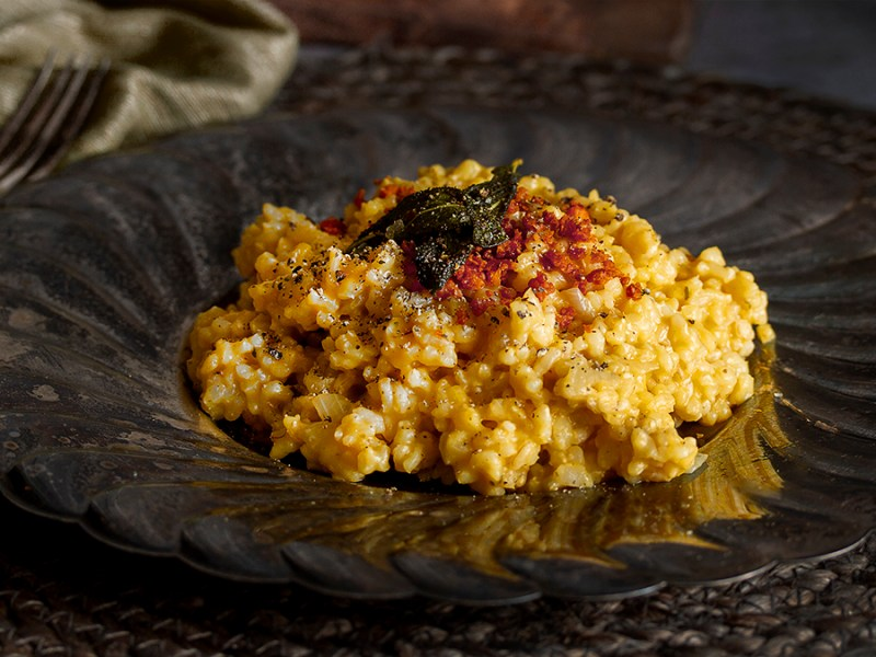 Vegan Butternut Risotto