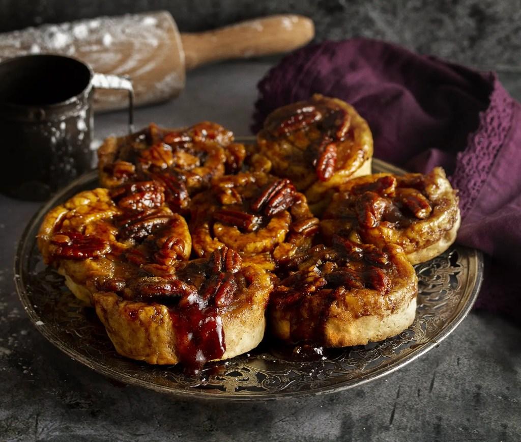 Gluten-Free, Vegan and Dairy-Free Maple Cinnamon Buns