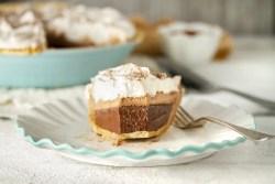 Gluten-Free & Vegan Triple Threat Mud Pie