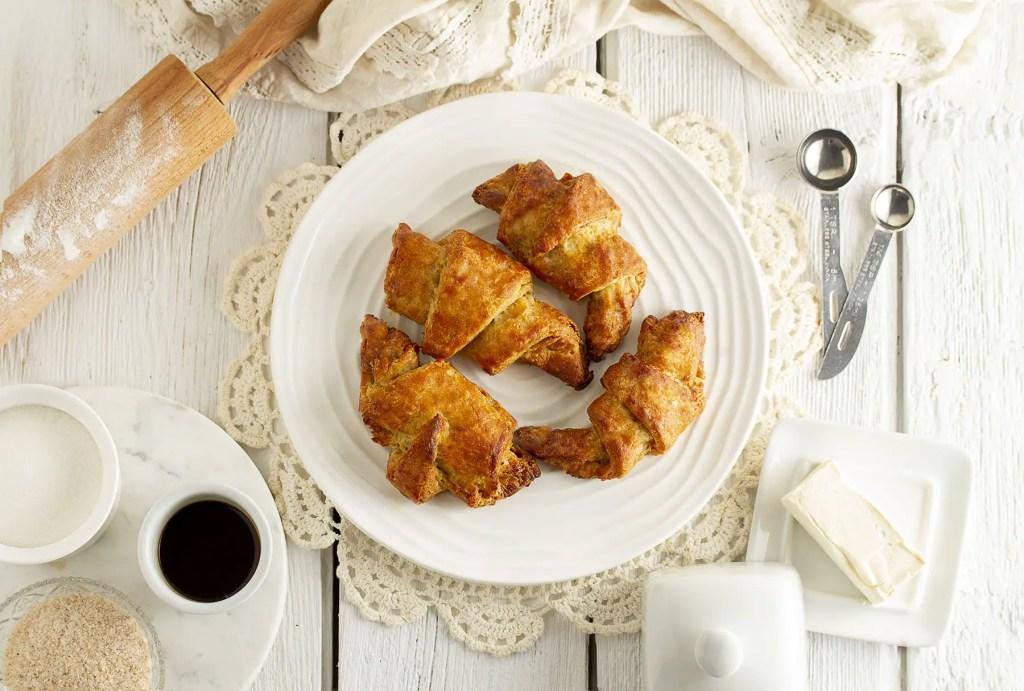 Gluten-Free, Dairy Free & Vegan Croissant