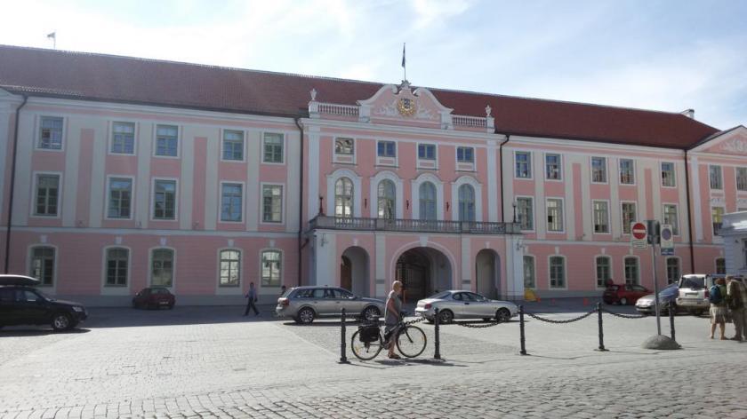Das estnische Parlamentsgebäude
