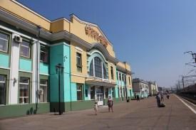 Der Bahnhof von Ulan-Ude