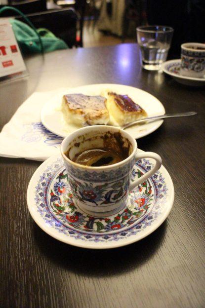 Großartiger Kaffee in der Moschee