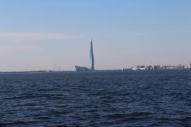 Das höchste Gebäude Europas ist mit 462m das Lakhta Center in St. Petersburg