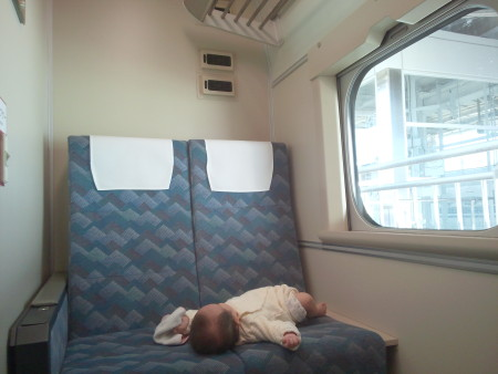 東海道新幹線 多目的室 授乳室